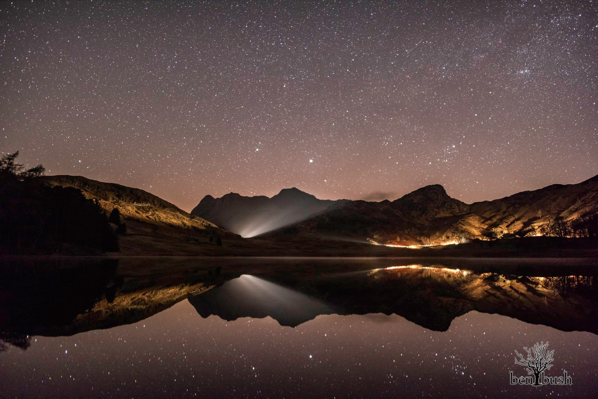 Blea Tarn Night time Ben Bush photography